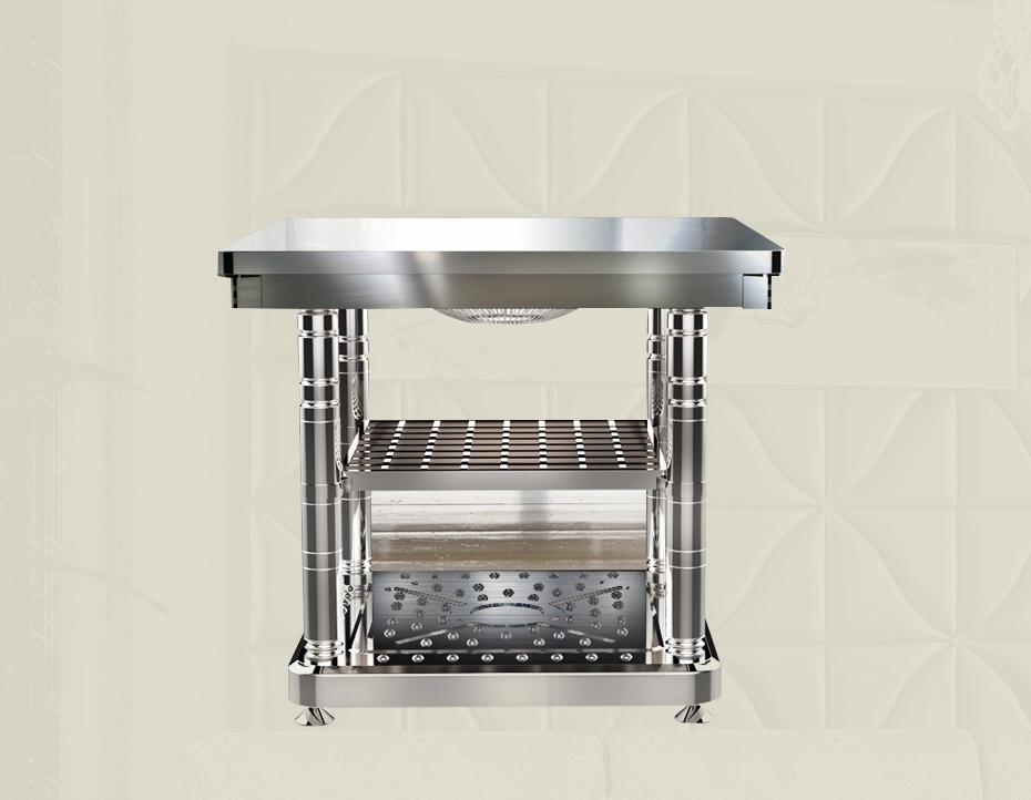 不锈钢系列取暖方桌