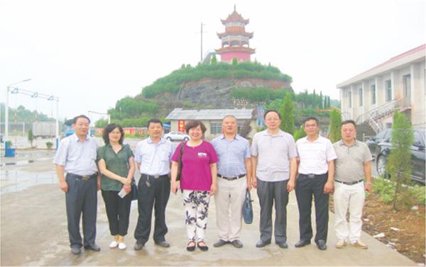 湖南省质量技术监督局专家评审组来