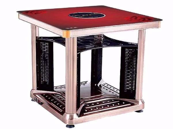【家家喜3代】八面多功能电暖方桌-国色天香