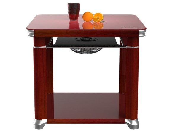 【家家爱3代】智能电暖方桌-幸福红