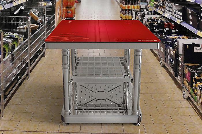 步升取暖科技电取暖桌
