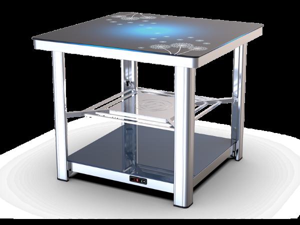 【家家欢3代】智能电暖方桌-海之蓝