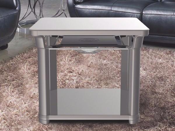 【家家福3代】智能电暖方桌-宝马灰