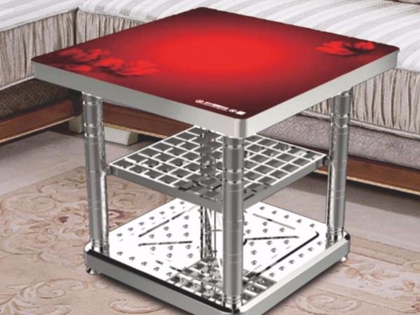 【家家乐5代】【生意通2代】电暖方桌-如花似锦、红红火火